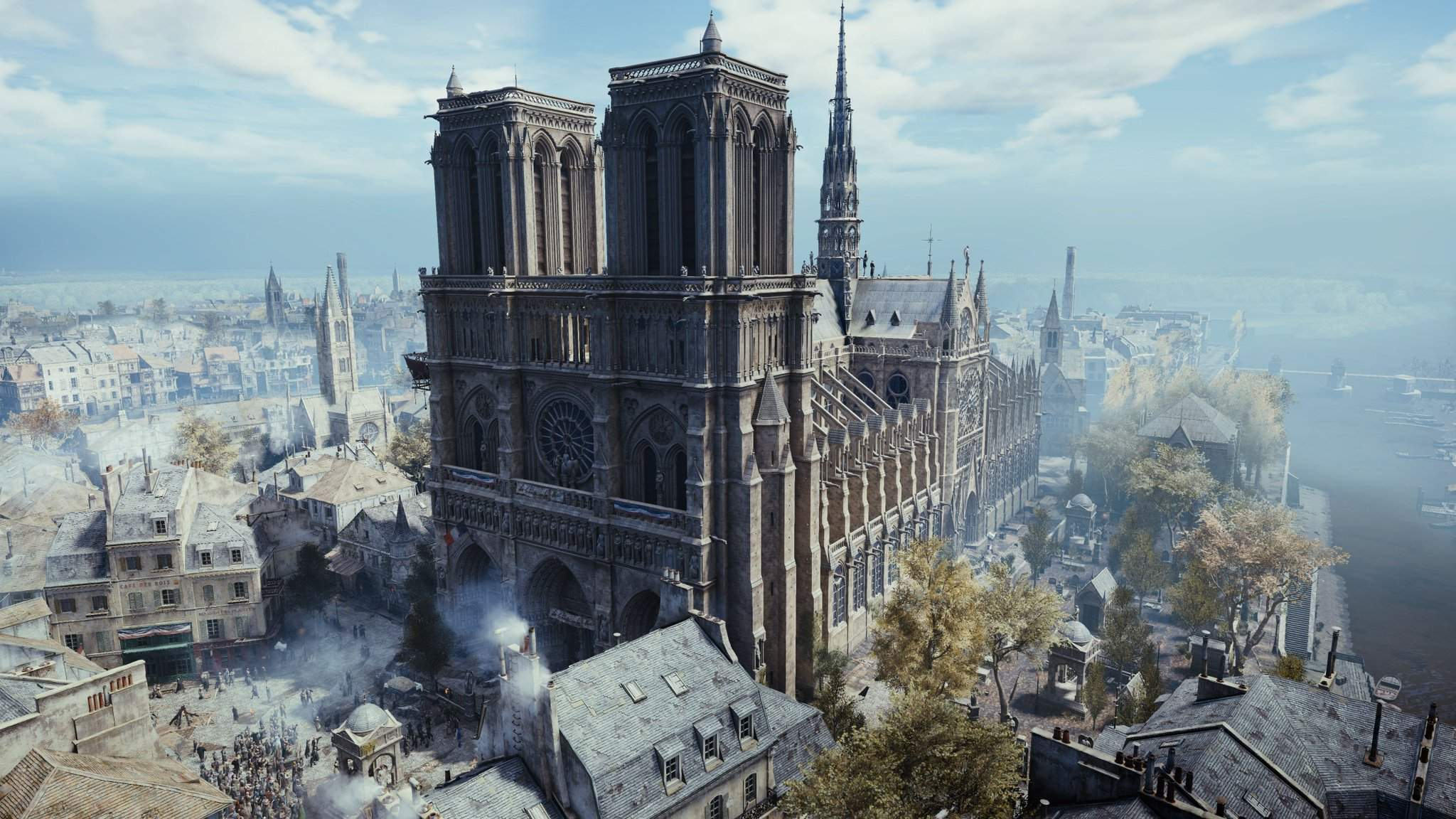 Notre Dame será reconstruída com a ajuda de Assassin's Creed Unity
