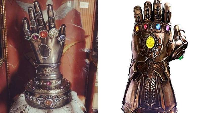 Vingadores   manopla do Thanos é semelhante a relíquia católica