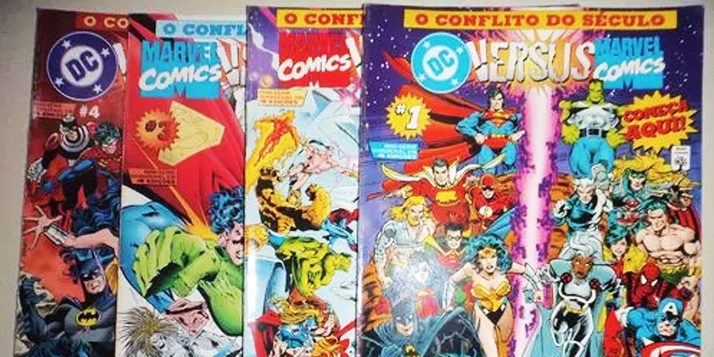 Marvel vs DC: O Conflito do Século