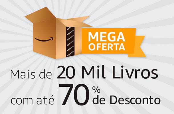 Amazon lança grande promoção de Livros e Quadrinhos