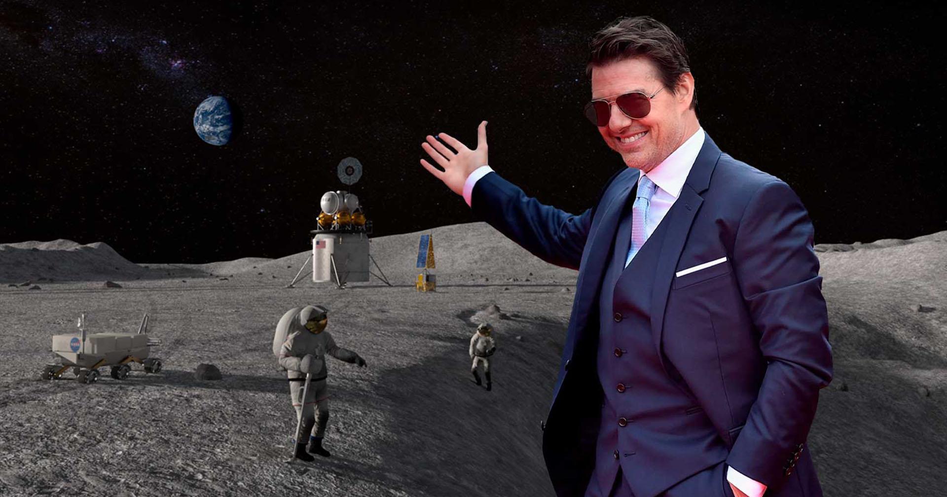 Sem limites NASA confirma que Tom Cruise gravará filme no espaço
