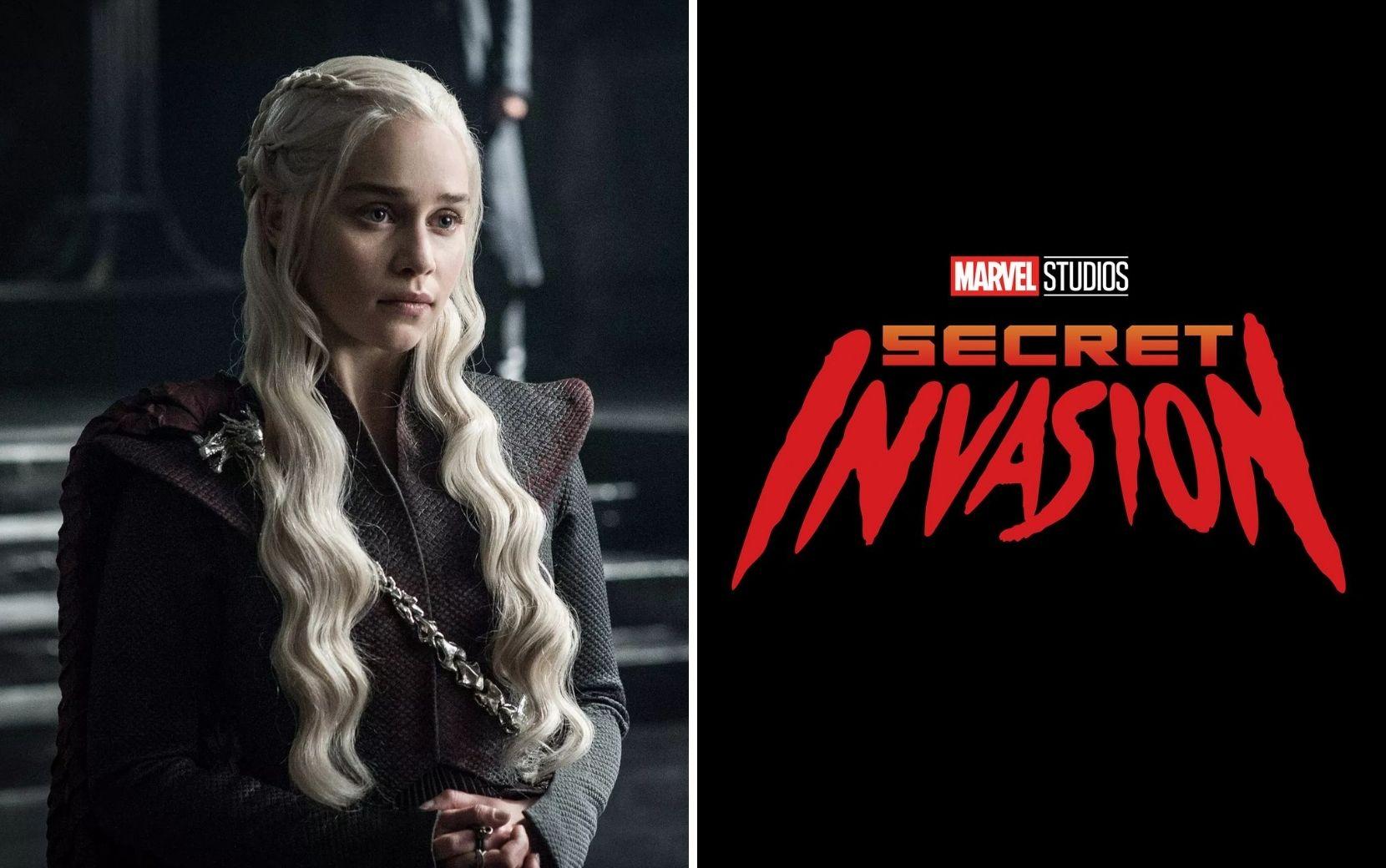 Emilia Clarke, de Game of Thrones, entra para o elenco de Invasão Secreta