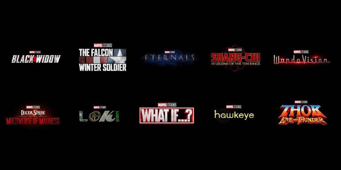 Todos os filmes e séries da Fase 4 da Marvel
